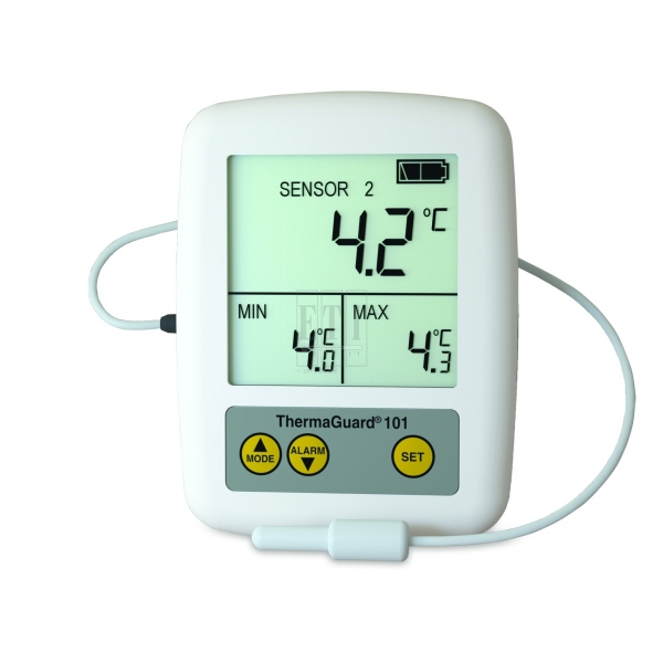 Description: ThermaGuard Thermometers for high accuracy fridge temperature monitoring